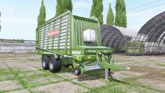 BERGMANN Repex 34S ladewagen para Farming Simulator 2017