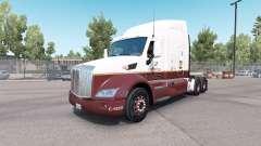 Caffenio pele para o caminhão Peterbilt 579