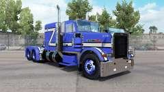Pele Azul Rollin no caminhão Peterbilt 379