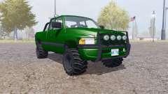 Dodge Ram 2500 Club Cab forest