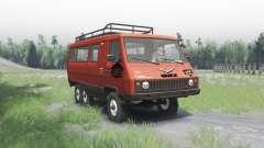 UAZ 3972 experientes 1990 6x6 v1.1