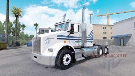 A MTV pele para Kenworth T800 caminhão para American Truck Simulator