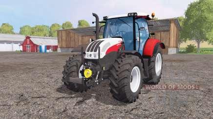 Steyr Profi 4130 CVT front loader para Farming Simulator 2015