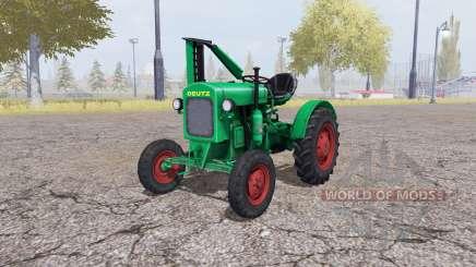 Deutz F1 M414 v3.0 para Farming Simulator 2013