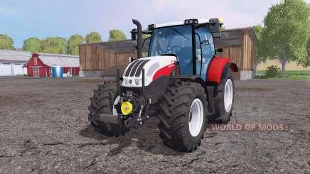 Steyr Profi 4130 front loader para Farming Simulator 2015