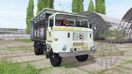 IFA W50 L cattle transport para Farming Simulator 2017