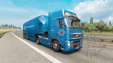 Painted truck traffic pack v3.4 para Euro Truck Simulator 2