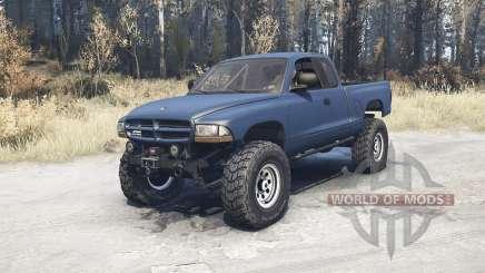 Dodge Dakota Club Cab 1997 v1.1 para MudRunner