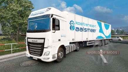 Painted truck traffic pack v3.9 para Euro Truck Simulator 2