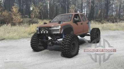 Chevrolet Colorado crawler para MudRunner