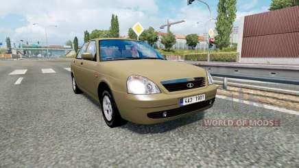 Russian traffic pack v1.8 para Euro Truck Simulator 2