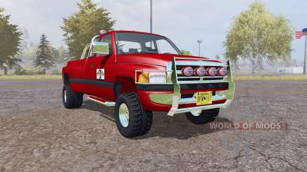 Dodge Ram 3500 Club Cab mobile tank para Farming Simulator 2013