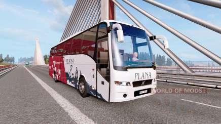 Bus traffic v2.3 para Euro Truck Simulator 2