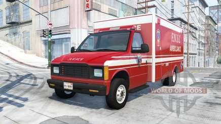 Gavril H-Series F.N.Y.C ambulance para BeamNG Drive