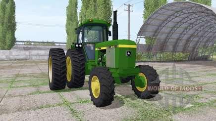 John Deere 4240 v3.0 para Farming Simulator 2017