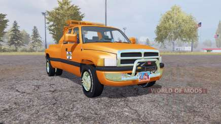 Dodge Ram 3500 Club Cab wrecker para Farming Simulator 2013