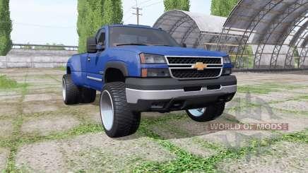 Chevrolet Silverado Regular Cab duramax v1.1 para Farming Simulator 2017