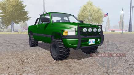 Dodge Ram 2500 Club Cab forest para Farming Simulator 2013