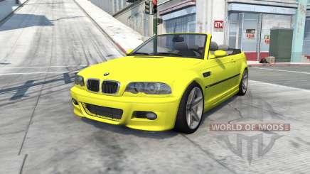 BMW M3 cabrio (E46) 2001 para BeamNG Drive