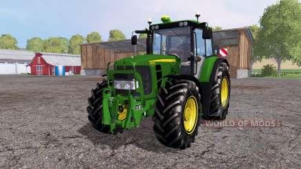 John Deere 6930 Premium front loader para Farming Simulator 2015