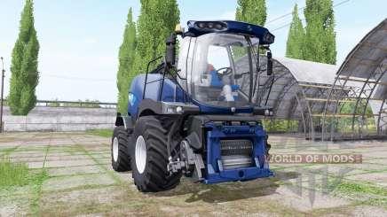 New Holland FR850 blue power para Farming Simulator 2017