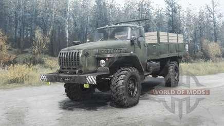 Ural 43206 v2.1 para MudRunner