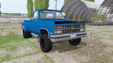 Chevrolet K30 1984 para Farming Simulator 2017