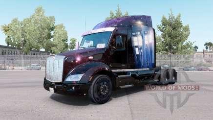 Médico Que a pele para o caminhão Peterbilt 579 para American Truck Simulator