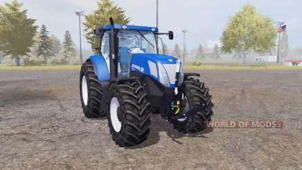 New Holland T7.220 blue power para Farming Simulator 2013