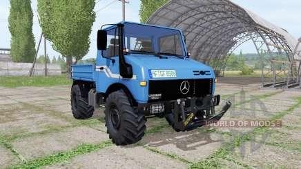 Mercedes-Benz Unimog U1600 v1.3 para Farming Simulator 2017