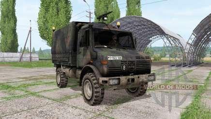 Mercedes-Benz Unimog U1300L bundeswehr para Farming Simulator 2017