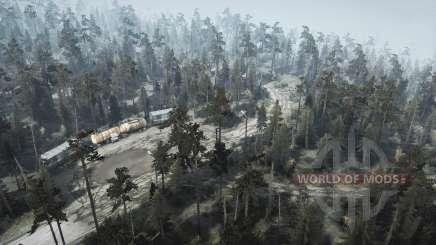 Floresta para MudRunner