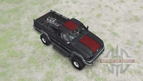 UAZ 27602 para Spin Tires