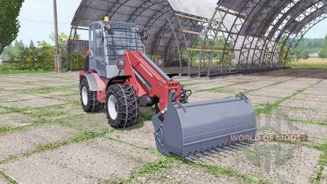 Weidemann 4270 CX 100T para Farming Simulator 2017
