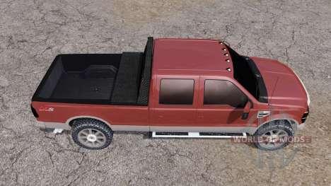 Ford F-250 Super Duty Crew Cab 2007 para Farming Simulator 2013