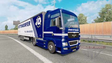 Painted truck traffic pack v4.5 para Euro Truck Simulator 2