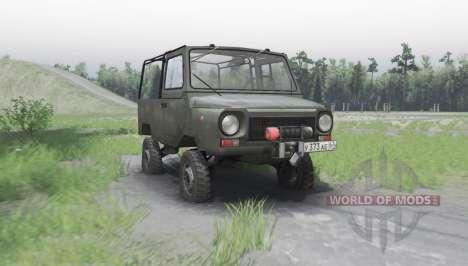 LuAZ 969М 1979 para Spin Tires