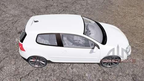 Volkswagen Golf GTI 3-door (Typ 1K) 2004 para Farming Simulator 2013