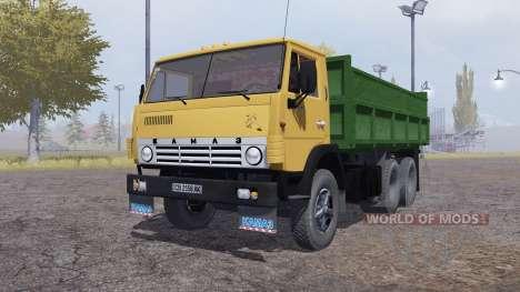 KamAZ 55102 v1.Um para Farming Simulator 2013