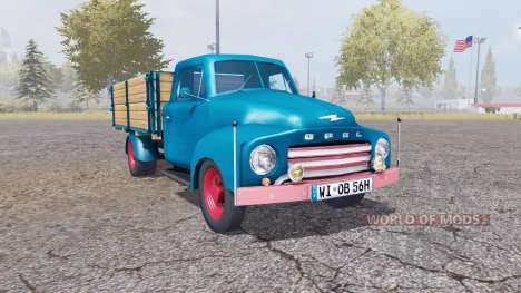 Opel Blitz v1.1.2 para Farming Simulator 2013