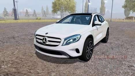 Mercedes-Benz GLA 220 CDI (X156) v1.1 para Farming Simulator 2013