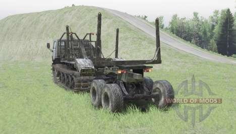 KamAZ 4310 rastreador para Spin Tires