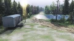 Lama da estrada