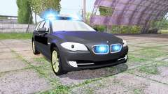 BMW 530d Touring (F11) undercover police