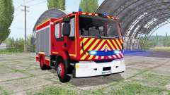 Renault Midlum Crew Cab Firetruck 2006