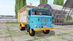 IFA W50 L cattle transport para Farming Simulator 2017