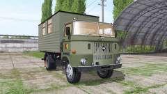 IFA W50 L leutewagen para Farming Simulator 2017