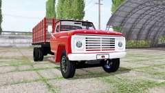 Ford F-600 grain truck para Farming Simulator 2017