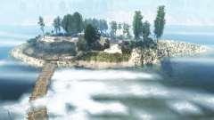 O litoral do rio