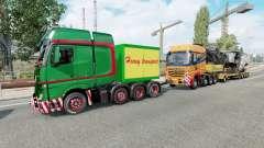 Heavy Haulage Convoy